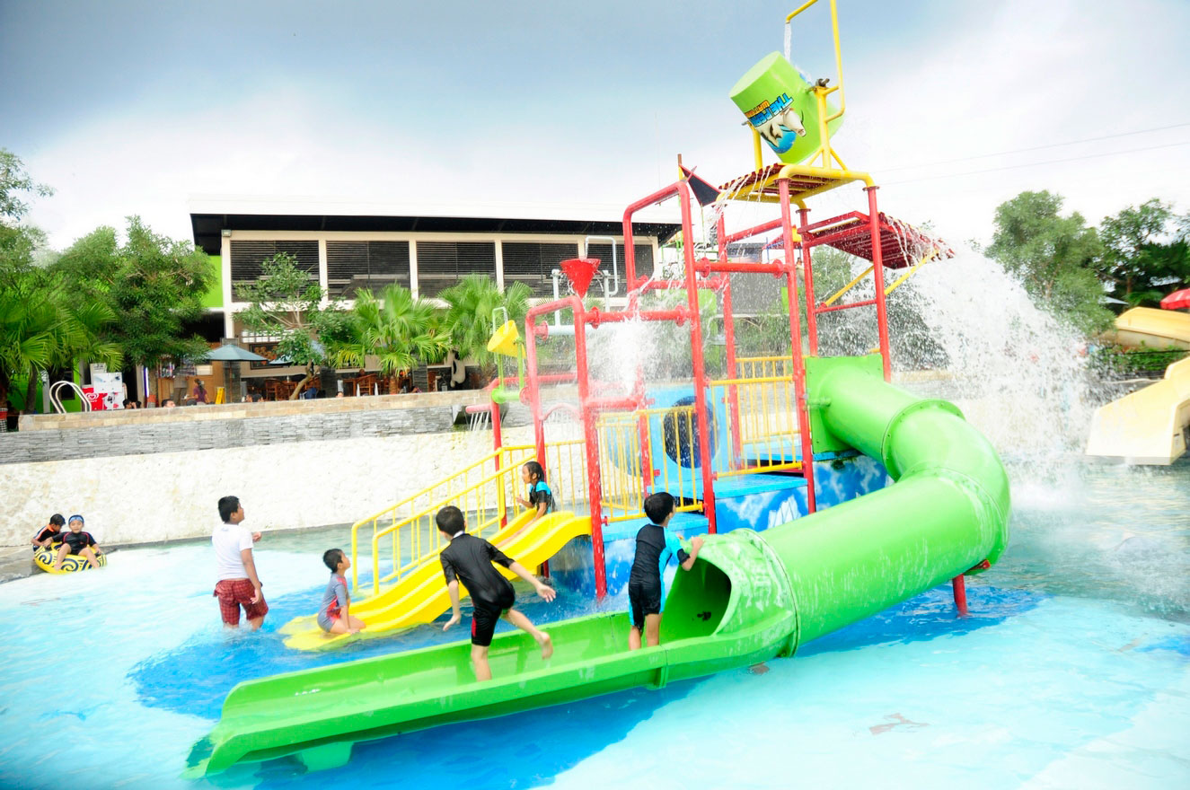 The peakview Waterboom and resto Kudus